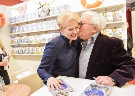 Dalia Grybauskaitė ir Algimantas Čekuolis