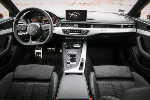 """Audi A5 Sportback"" kokpitas – nepriekaištingas"