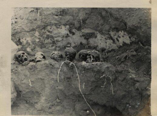 Linkmenų aukų ekshumacija