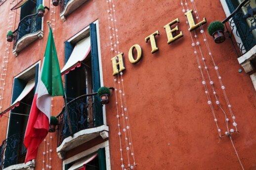 Viešbutis, Italija