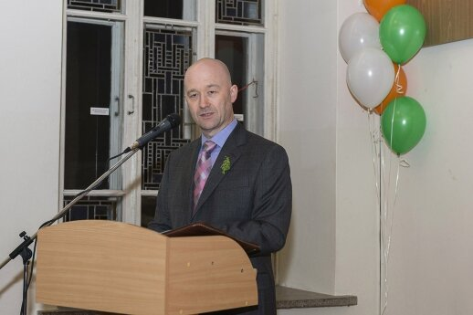 Irish Ambassador David Noonan