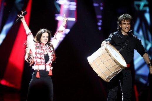 Bulgarijos atstovai Elitsa Todorova ir Stoyan Yankulov