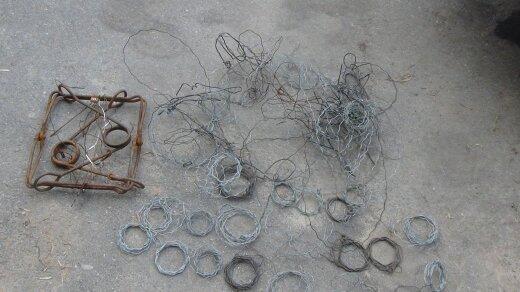 Draudžiami žvejybos įrankiai