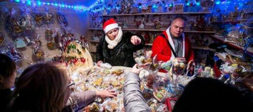 Kalėdų eglutės įžiebimas Vilniuje