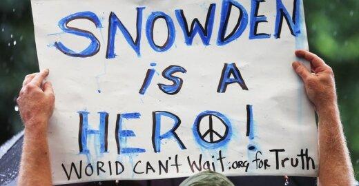 Edwardas Snowdenas vadinamas didvyriu