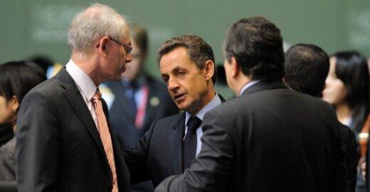 Hermanas van Rompuy ir Nicolas Sarkozy