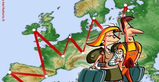EP svarstys galimybę bosniams ir albanams į ES keliauti be vizų
