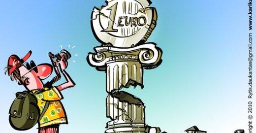 D. Britanija euro nenori bent penkerius metus. Panaikintas finansų ministerijos skyrius besirūpinęs euru