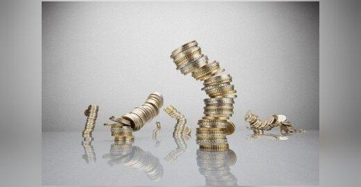 Euro zonos augimas nukrito iki nulio