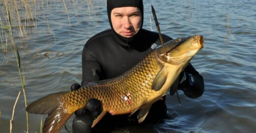 Povandeninė žvejybos fanai prašo neriboti jų veiklos