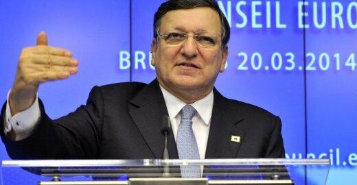 J. M. Barroso: ES nėra pasiruošusi pasiūlyti narystę Ukrainai