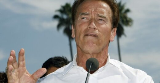ES regionai remia A.Schwarzeneggerio iniciatyvą saugoti klimatą