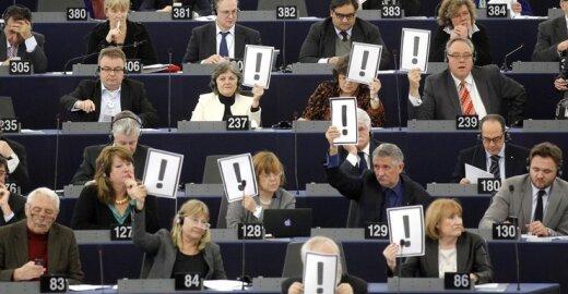 Per 2014 metų EP rinkimus gali triumfuoti euroskeptikai