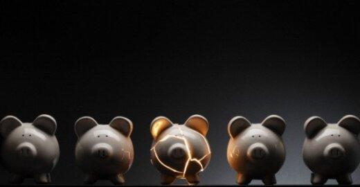 Airija atskleidžia tikrąjį bankų įsiskolinimų mastą