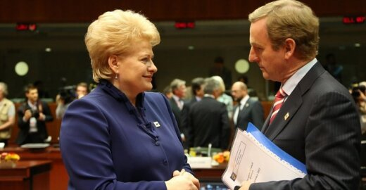 Dalia Grybauskaitė ir Enda Kenny