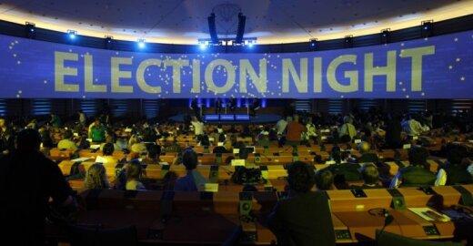 Susirūpinimą kelia galimas menkas rinkėjų aktyvumas renkant EP