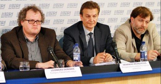 Leonidas Donskis, Henrikas Mickevičius, Darius Kuolys