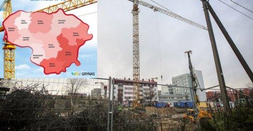Nelegalių statybų žemėlapis