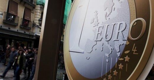 Briuselis uždegė žalią šviesą Latvijai įsivesti eurą
