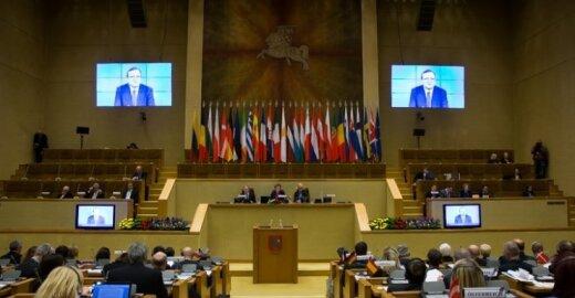 Europos Sąjungos parlamentų pirmininkų susitikimas Seime