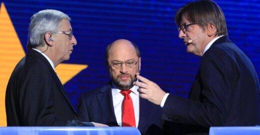 J. C. Junckeris, M. Schulzas, G. Verhofstadtas