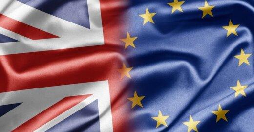 """Euroskeptiška Didžioji Britanija visgi turėjo """"ekonominės naudos"""" iš narystės ES"""