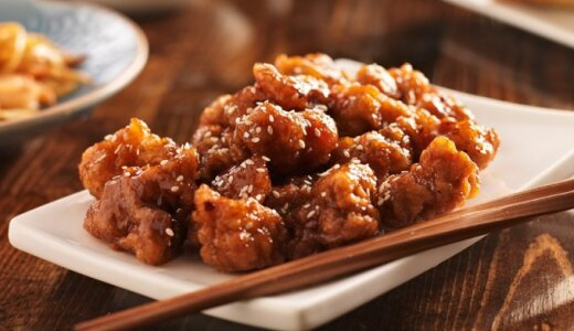 Traški vištiena kiniškai su žemės riešutais