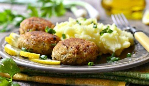 ATRADIMAS: mėsos ir bulvių kotletai