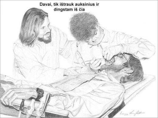 12 kartų, kai Jėzus elgėsi kaip absoliutus šiknius