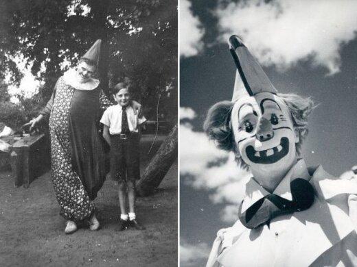 Senos šiurpą keliančios klounų nuotraukos, kurias pamatę suprasite, kodėl žmonės jų bijo