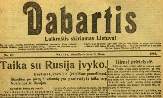 Prieš 100 metų: kokią taiką sutarė Vokietija ir bolševikinė Rusija