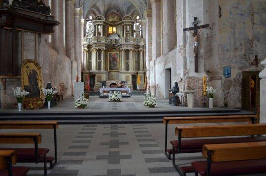 Šv. Jurgio Kankinio bažnyčia (D. Varnaitės nuotr.)