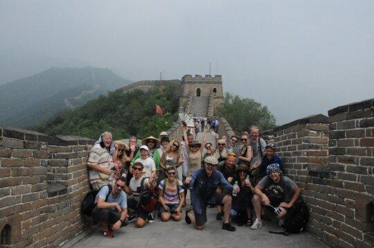 """Spektaklis """"Katedra"""" Kinijoje"""