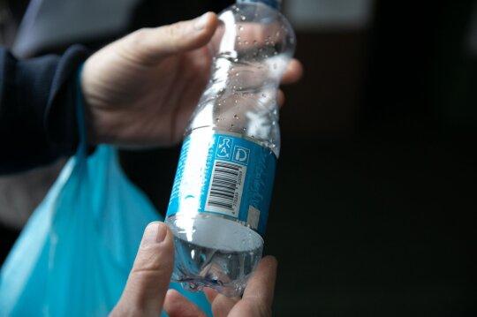 Užstato sistemoje dalyvaujantis butelis