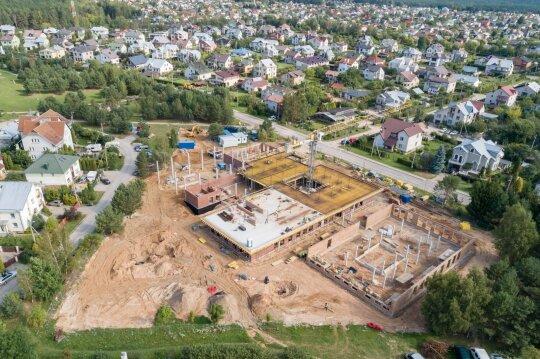 Mokyklos Balsiuose statybos