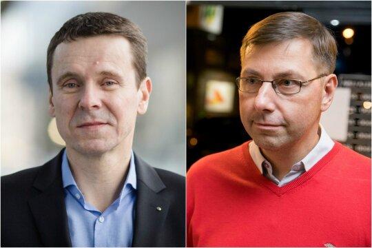 Raimundas Kurlianskis ir Gintaras Steponavičius