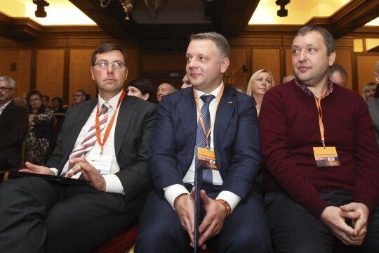 Gintaras Steponavičius, Eligijus Masiulis, Antanas Guoga