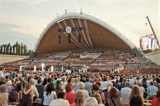 Vitulskio patirtis Dainų šventėje: žavingas Vilnius, bendraminčiai ir miegas ant grindų