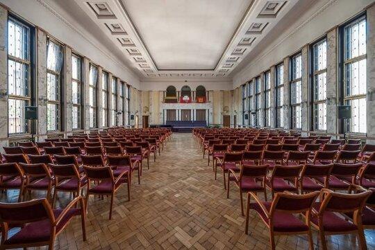 Didžioji salė Kauno karininkų įgulos ramovėje