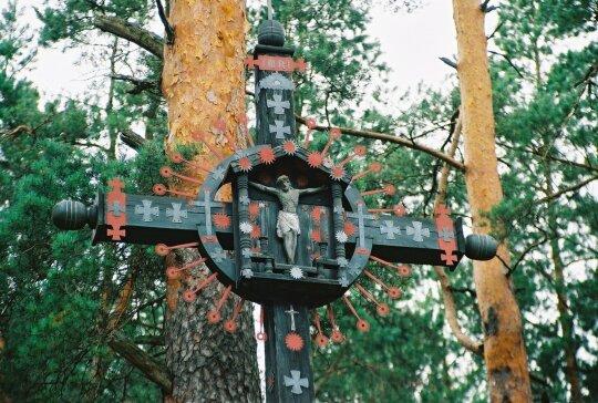 Mančiagirės kaimo kryžius