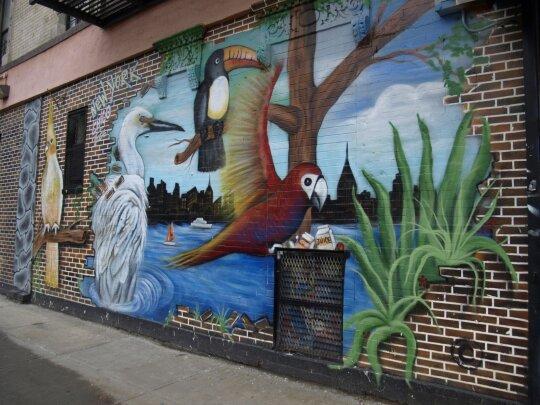 Gatvės menas Niujorke