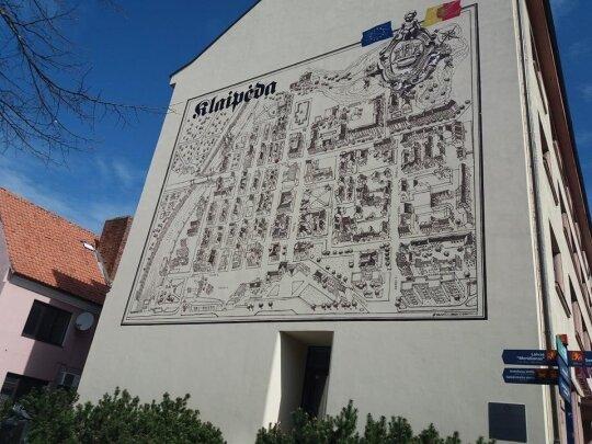 Gatvės menas Klaipėdoje