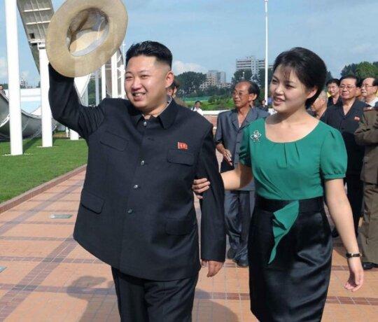 Ri Sol Ju, Kim Jong Unas