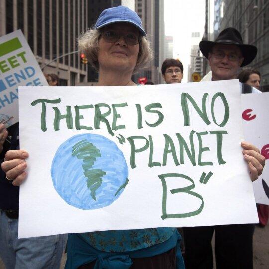 Protestas prieš klimato kaitą Niujorke