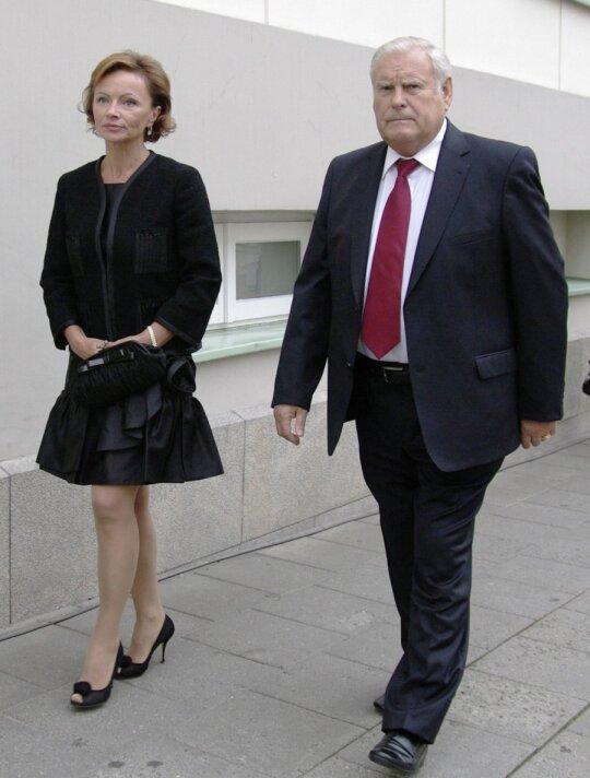 Bronislovas Lubys su žmona