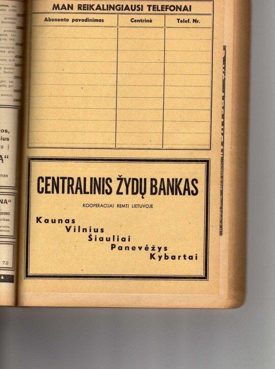 Žydų centralinis bankas