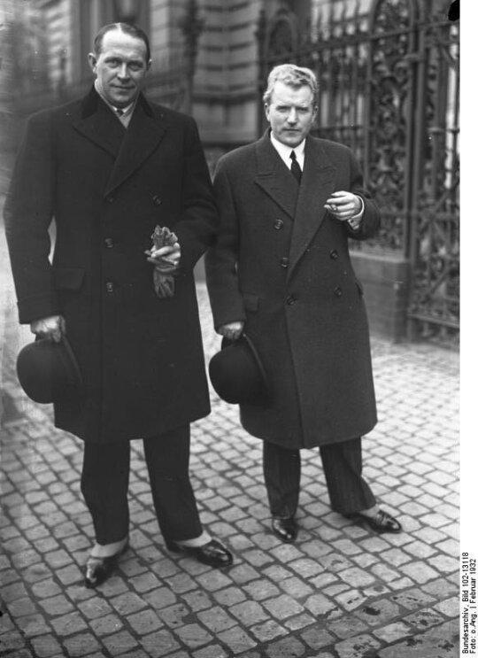 Dovas Zaunius ir Vaclovas Sidzikauskas, 1932 m. sprendžiant Lietuvos ir Vokietijos konfliktą Tautų Sąjungoje