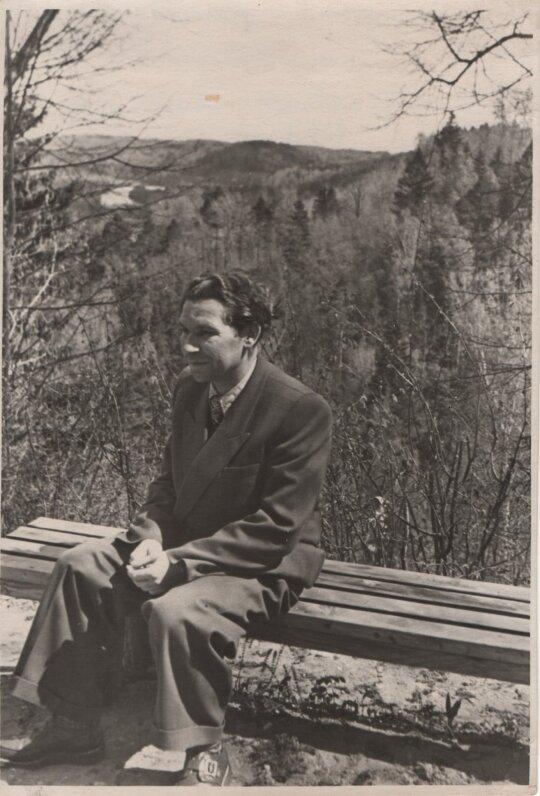 K. Kubilinskas Latvijoje, 1957 m.