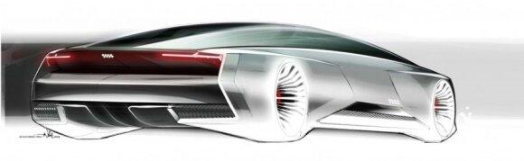 Virtualus Audi automobilis
