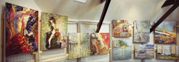 Iš Lietuvos į Britaniją išvykusio dailininko kūrybą įvertino pats Salvadoro Dali sūnus